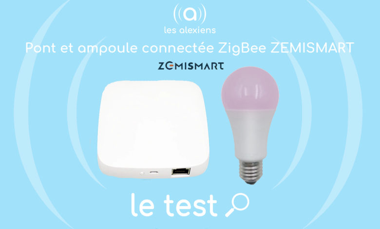 Photo of [TEST] Pont et ampoule ZigBee par Zemismart : Simple, rapide et peu gourmand