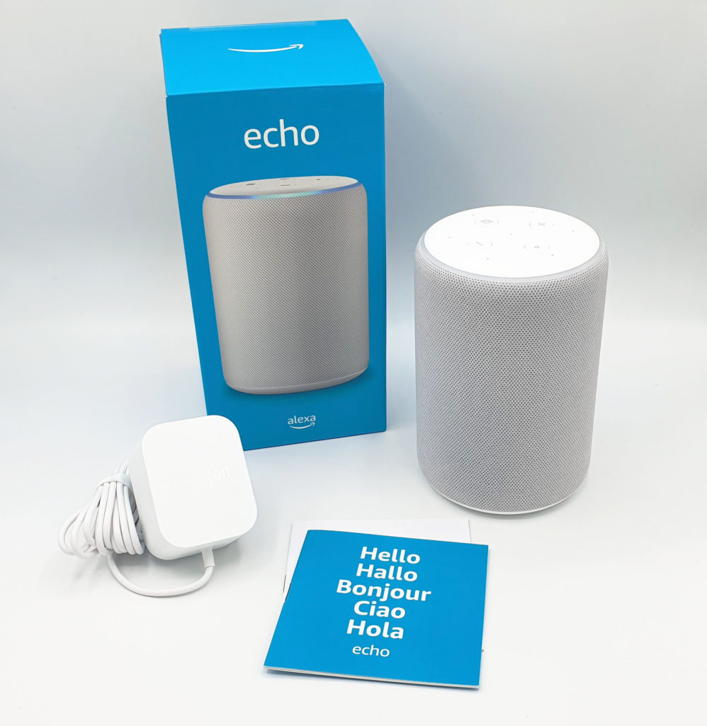 Unboxing Amazon Echo 3