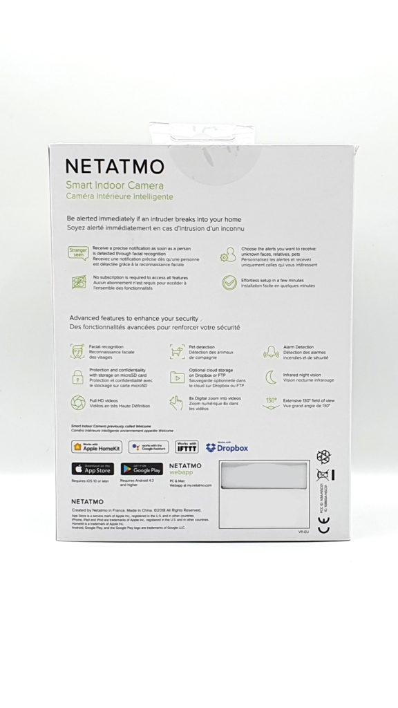 Avis Netatmo Welcome