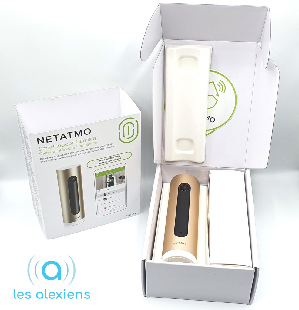 Test et avis Netatmo Welcome