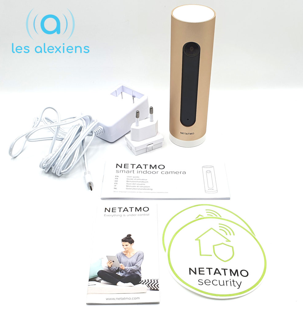 Unboxing de la caméra Netatmo Welcome