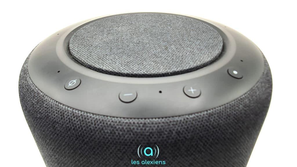 Les boutons d'Echo Studio