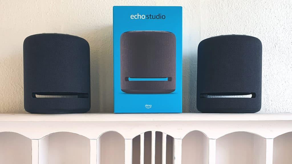 Echo Studio en paire : avis et test en stéréo