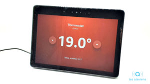 Thermostat Netatmo sur Amazon Echo Show