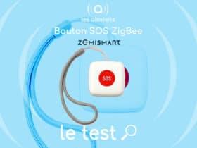 Zemismart Panic Button : un bouton SOS d'alerte compatible Tuya / Smart Life