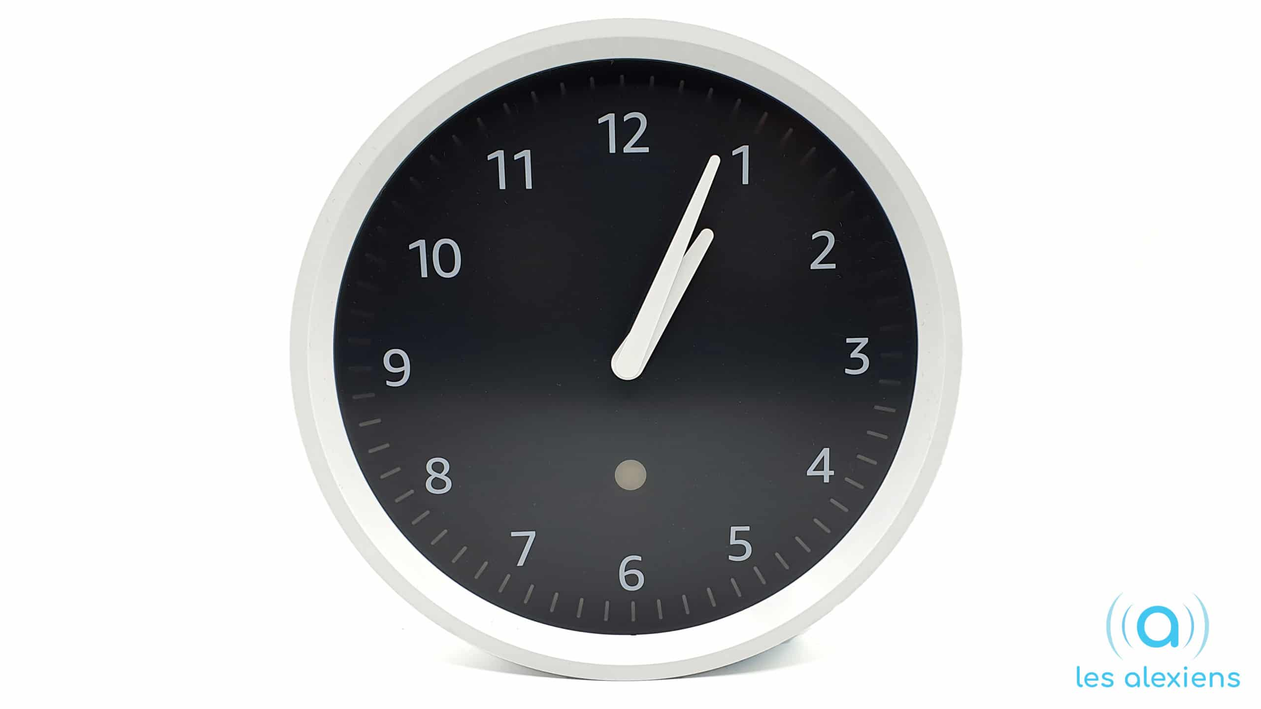 Amazon Echo Wall Clock - Horloge pendule compatible Alexa