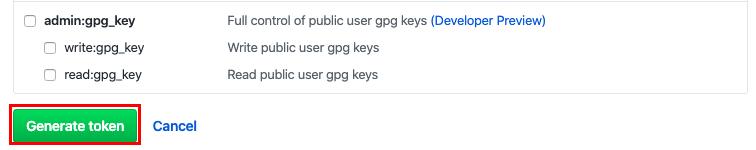 github generate token hacs