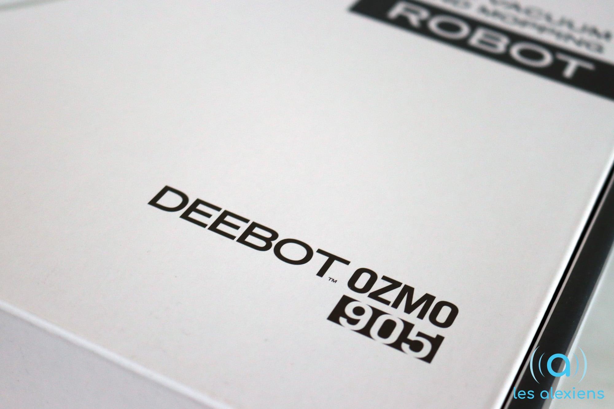 TEST] Ecovacs Deebot Ozmo 905 : un robot aspirateur toujours