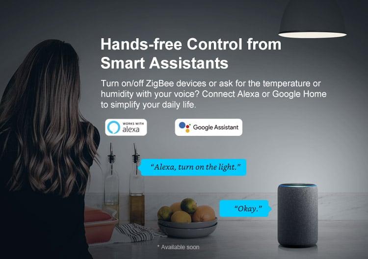 Pont ZigBee Sonoff compatible Alexa Echo et Google Home Assistant