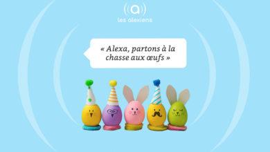 Photo of Pâques : «Alexa, partons à la chasse aux œufs»