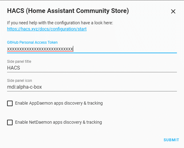 Home Assistant Community Store