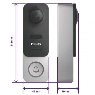 Sonnette Philips Welcome Eye Link