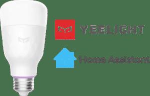 yeelight hassio integration light
