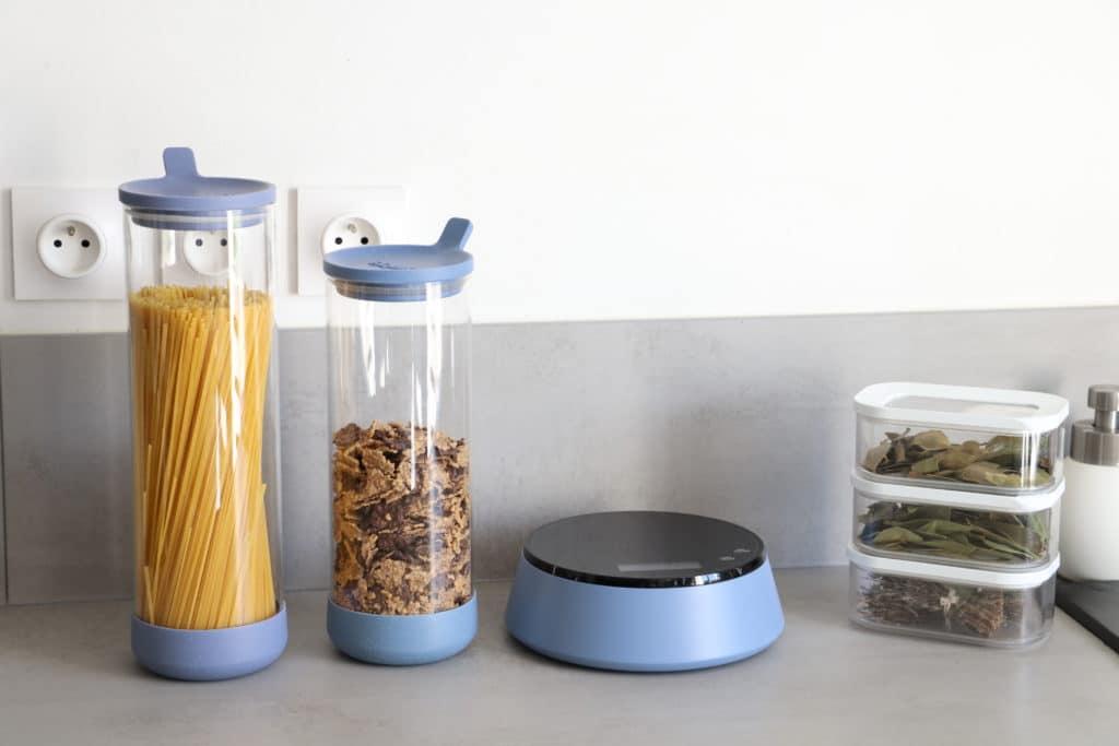 SquiKit : balance alimentaire connectée compatible Alexa Echo et Google Home Assistant