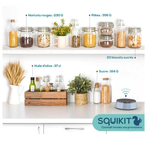 SquiKit : la balance connectée qui gère vos stock au quotidien
