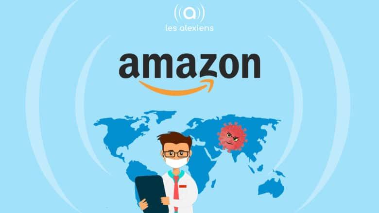 Coronavirus : Amazon crée un robot contre la pandémie de Covid-19