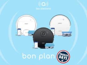French Days : promos sur les robots aspirateurs Ecovacs