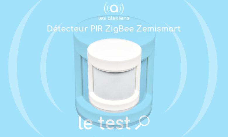 Photo of [TEST] Zemismart ZigBee PIR Sensor : un détecteur de mouvement compact et efficace