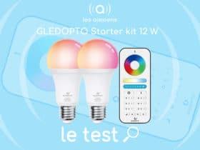 Notre avis sur les ampoules E27 ZigBee de la marque Gledopto