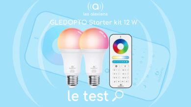 Photo of [TEST] GLEDOPTO Starter kit 12 W : des ampoules au doigt et à la voix