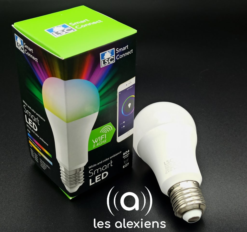 Ampoule LSC Smart Connect : un tout petit prix