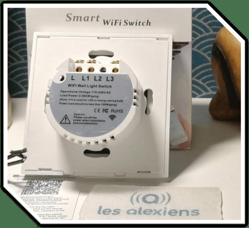 Interrupteur connecté sans neutre Zemismart