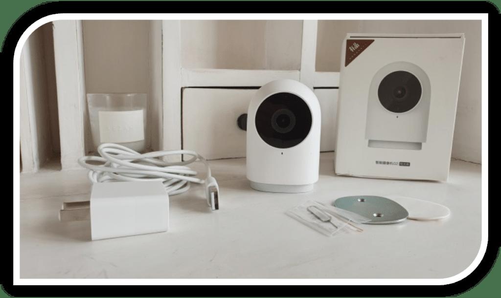 Aqara G2 : une caméra compacte sur secteur