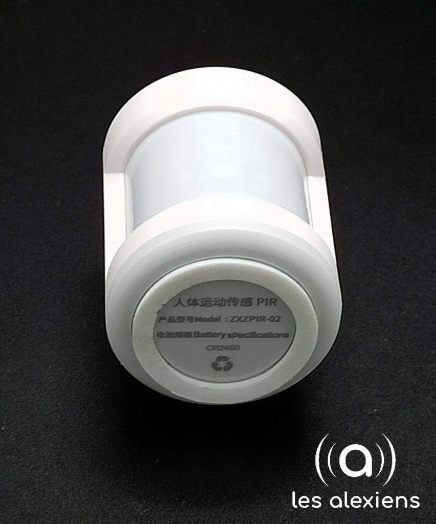 Zemismart ZigBee PIR Sensor - vue profilée