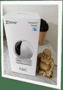 Caméras connectées : la EZVIZ C6C