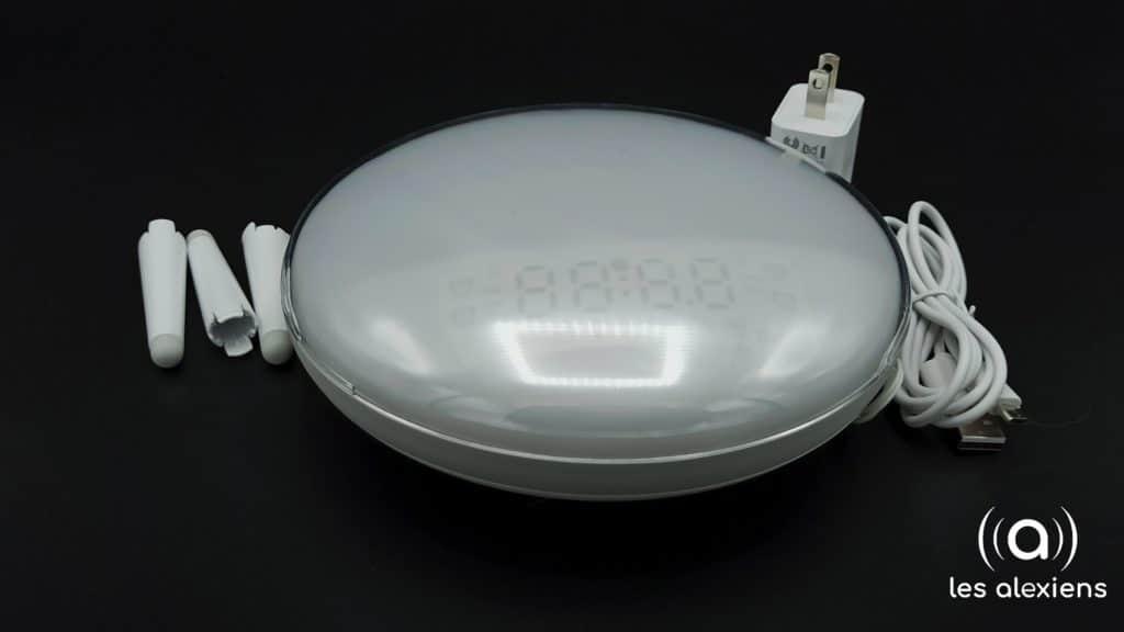 Zemismart : lampe de chevet / réveil connecté