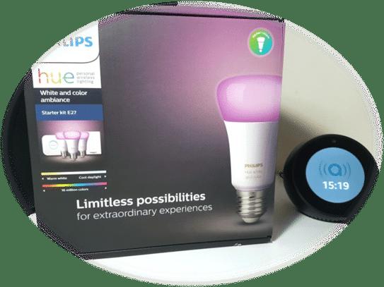 Les ampoules connectées Philips Hues