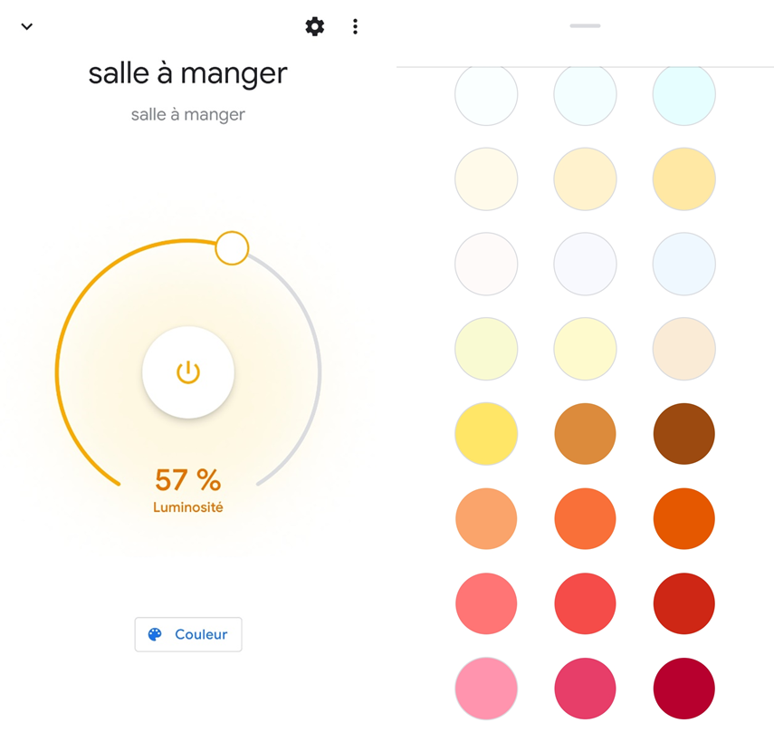 Philips Hue et Google Home