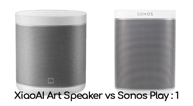 XiaoAI Smart Speaker vs Sonos Play:1