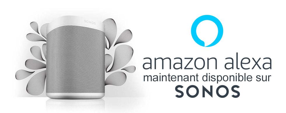 Alexa sur les enceintes Sonos