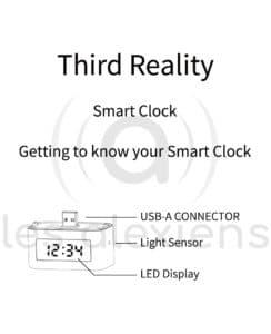 Echo Flex Smart Clock : une horloge compatible Alex Echo !