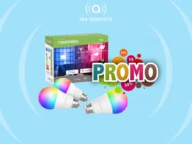 Promo sur les ampoules connectées Novostella E27 Wi-Fi