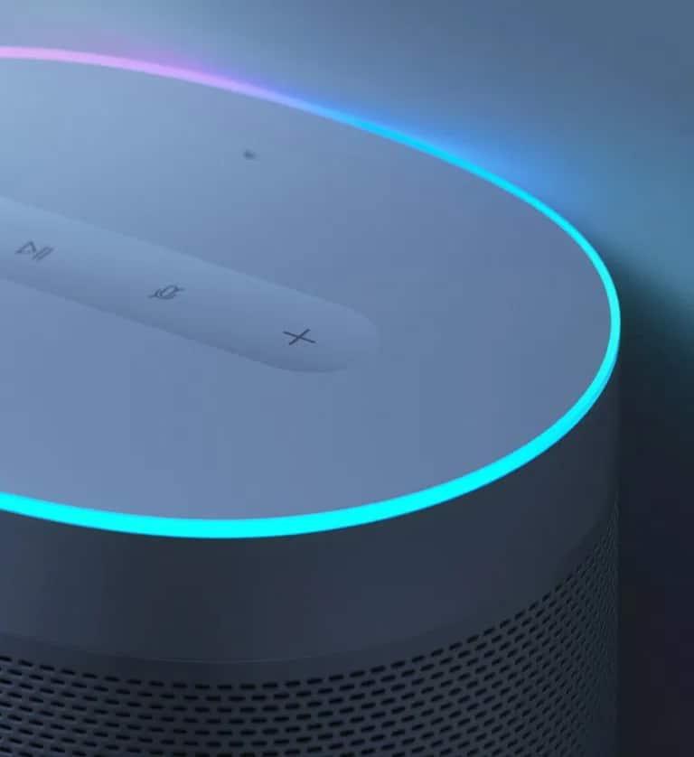 XiaoAI Smart Speaker : un cerclage lumineux de 16 millions de couleurs