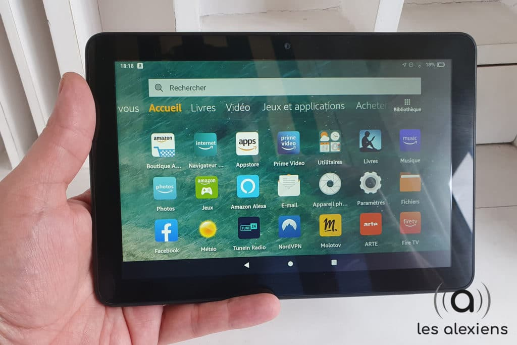 La nouvelle tablette d'Amazon