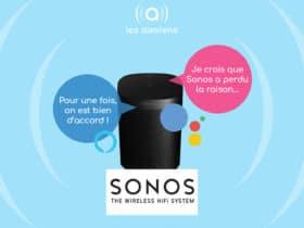 Google poursuit à son tour Sonos pour violation de brevets