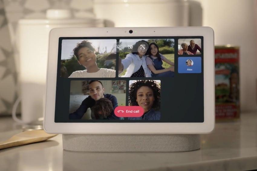 Google Duo : les appels vidéo de groupe disponible sur Nest Hub Max