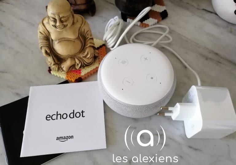 Echo Dot 3 : unboxing