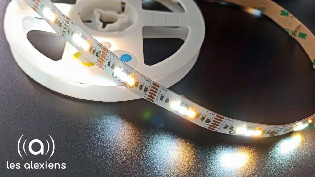 test du ruban LED TV de Gledopto