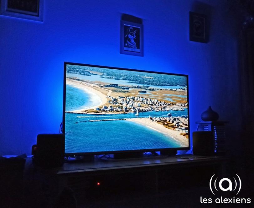 Ruban LED TV : la télévision prend des couleurs