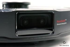 Les deux caméras du robot