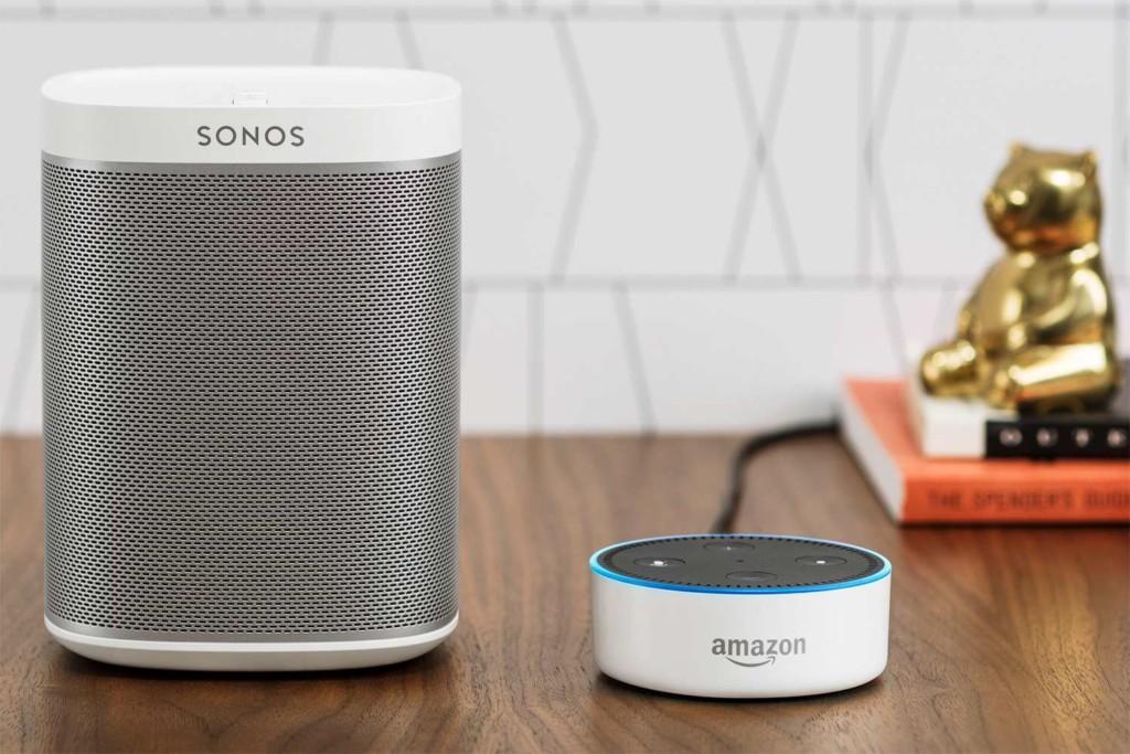 Sonos & Amazon Echo Dot 2