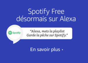 Spotify Free : maintenant disponible sur Alexa Echo en France
