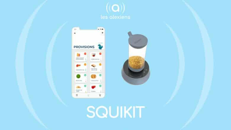 SquiKit, la balance alimentaire connectée intelligente