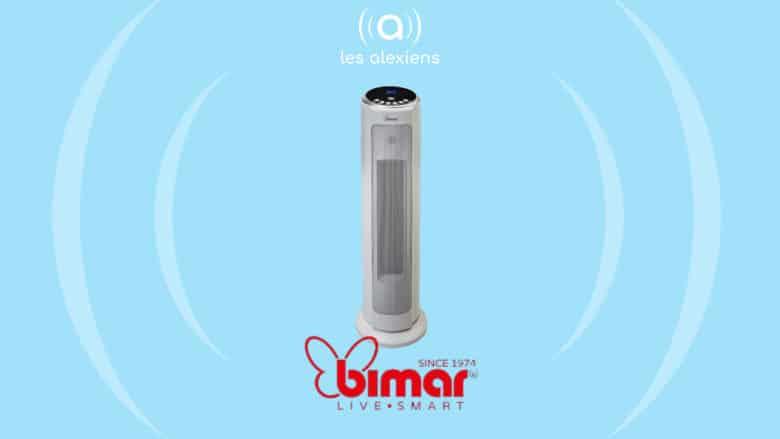 Notre avis sur le ventilateur connecté Bimar HP120