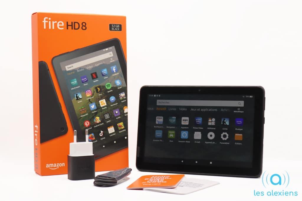 Amazon Fire HD 8 (2020) : test, avis et prix