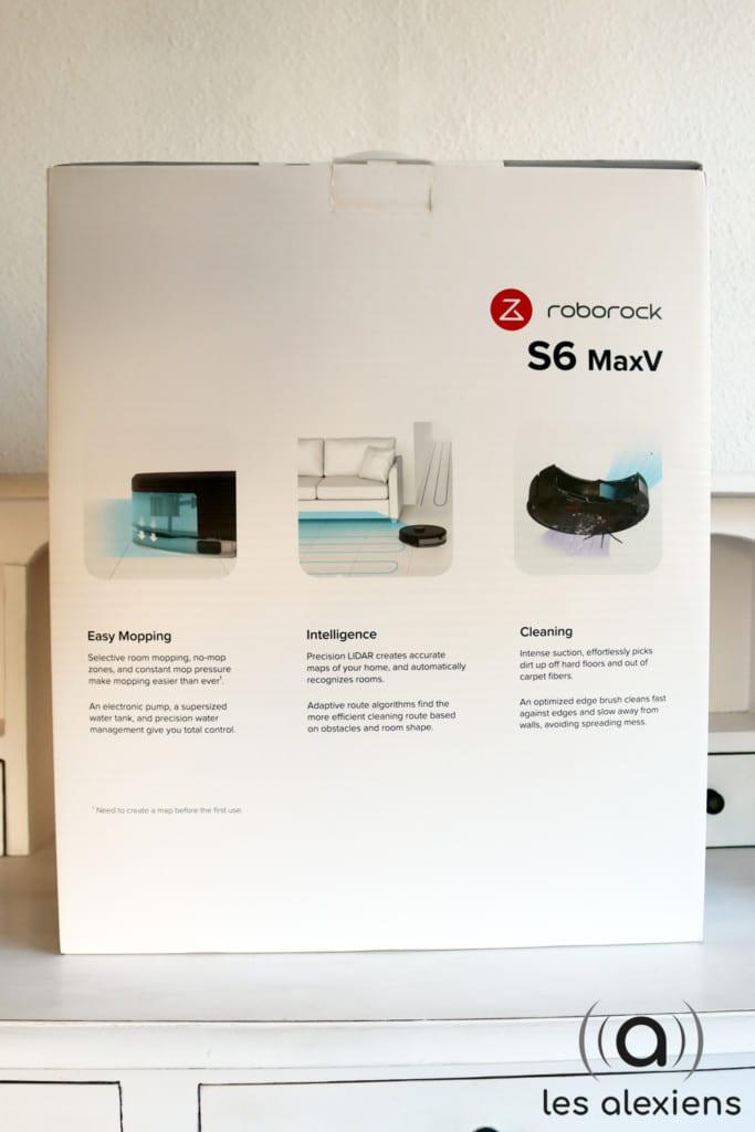 Test du Roborock S6 Max V